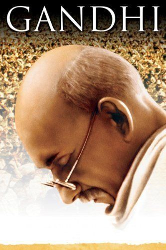 Gandhi (1982) Poster-A must watch for studying famous people, and the history of India and colonial England.