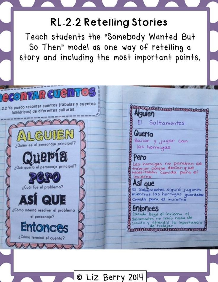 So excited - finally finished my Spanish interactive reading notebook for 2nd Grade!  Lots of great activities for Common Core!!