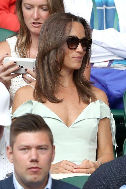 Pippa Middleton in Zanzan 'Apache' sunglasses
