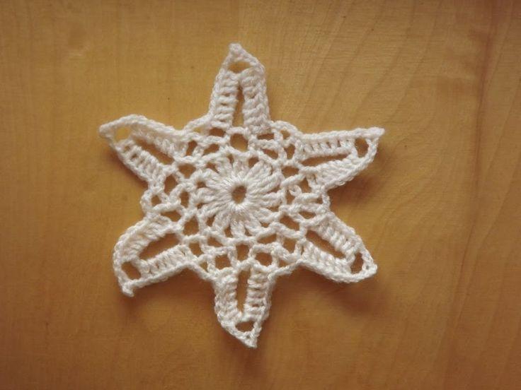 Płatek śniegu #6 - Szydełkowanie bez tajemnic