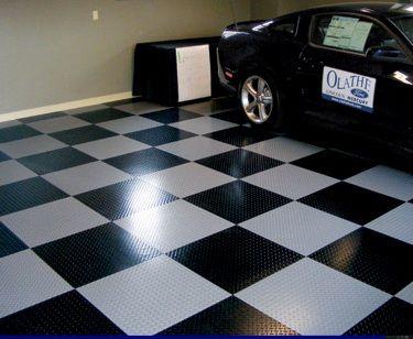 Peel And Stick Garage Tiles