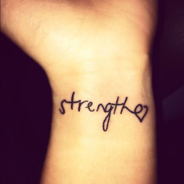 40 Charming One Word Tattoo Examples Skin Candy Pinterest