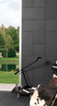 Onix Negro 30x60 rústico + Onix Negro 30x30 rústico