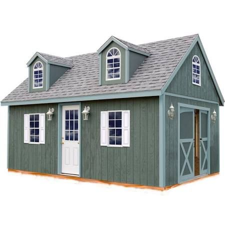 Arlington 12x24 ft Best Barn Wood Shed Kit $6,350
