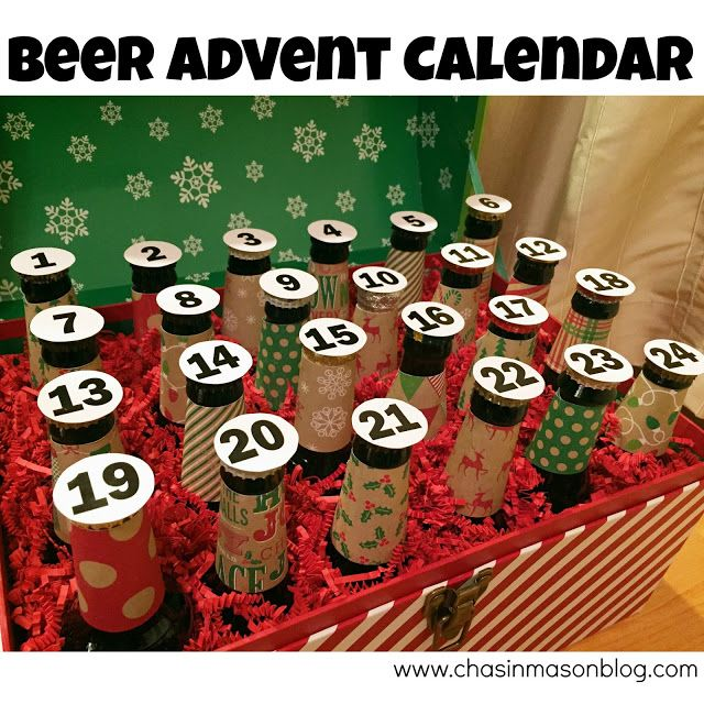 Chasin' Mason: [Gifts for the Husband] DIY Beer Advent Calendar