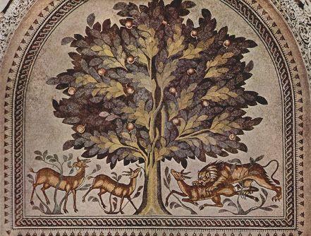 ancient arab art trees - Google Search
