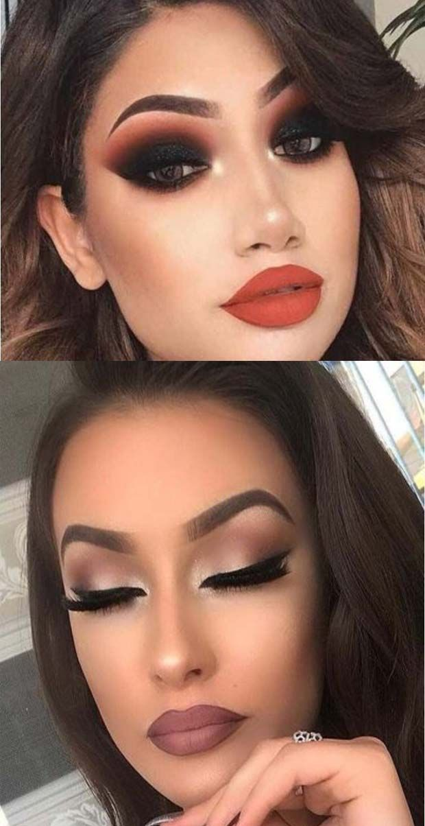 Daytime And Dramatic Eye Makeup Ideas Dramatic Eye Makeup