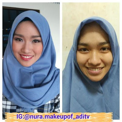 Nura Make Up Of ADITV: make up n hijab style