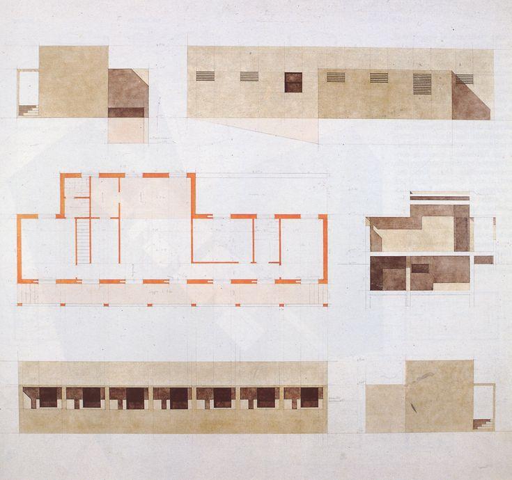 Giorgio Grassi | Vivienda Unifamiliar | Fagnano Olona, Italia | 1978