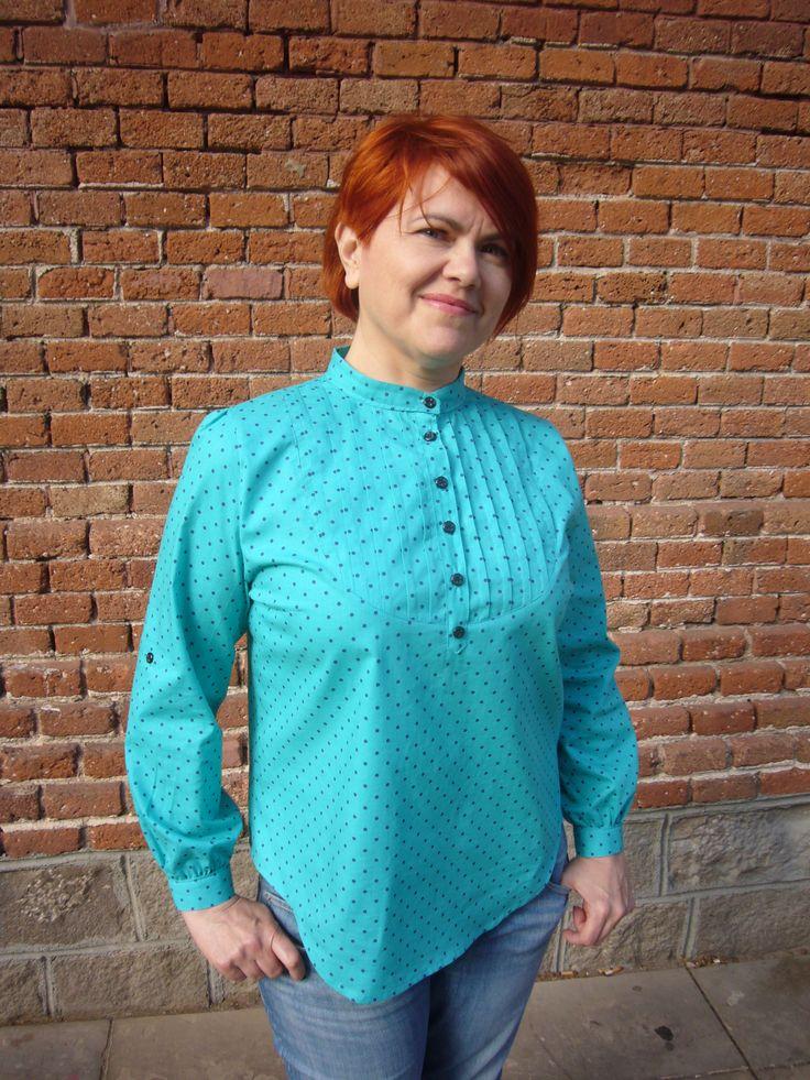 Day 23 MMM 14 Carme blouse, Pauline Alice Pattern