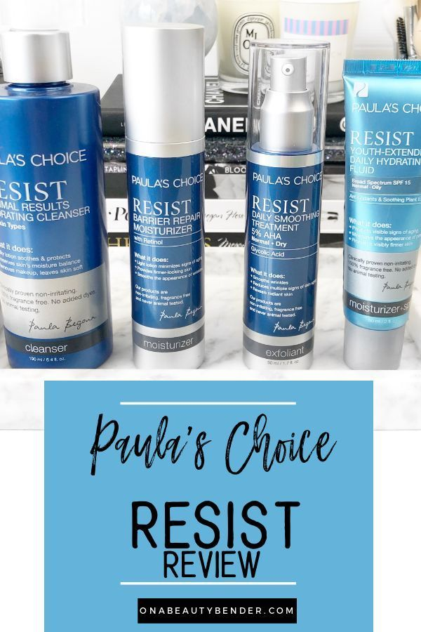 Paula S Choice Resist Review On A Beauty Bender Paula S Choice Resist Paulas Choice Cruelty Free Skin Care
