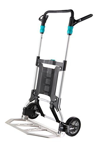 From 156.24 Wolfcraft 5525000 Ts 1500 Universal Sack Truck Heavy Duty Folding Trolley  Max Capacity 200 Kg