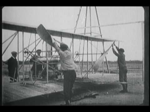 Amazing film on this page of Theodore Roosevelt flying with Arch Hoxsey in Wright Brothers plane that was in Montgomery - Alabama Pioneers