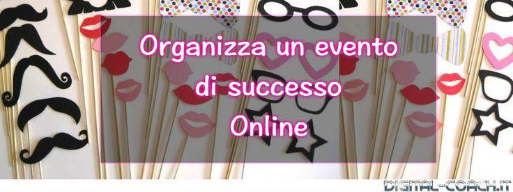 Organizzare un evento di successo online