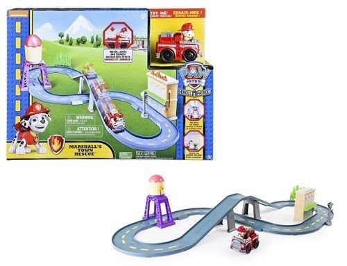 Roll Patrol Paw Patrol Marshall's Town Rescue Track Vehicle Lights Sounds Toy #RollPatrolPawPatrol
