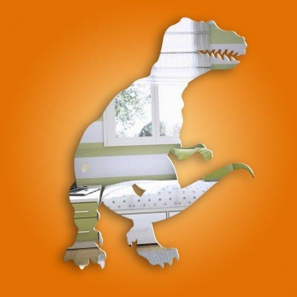 Dotty Hippo - Kids Mirrors - Tyrannosaurus Rex Mirror, £6.50 (http://www.dottyhippo.co.uk/products/Tyrannosaurus-Rex-Mirror.html)