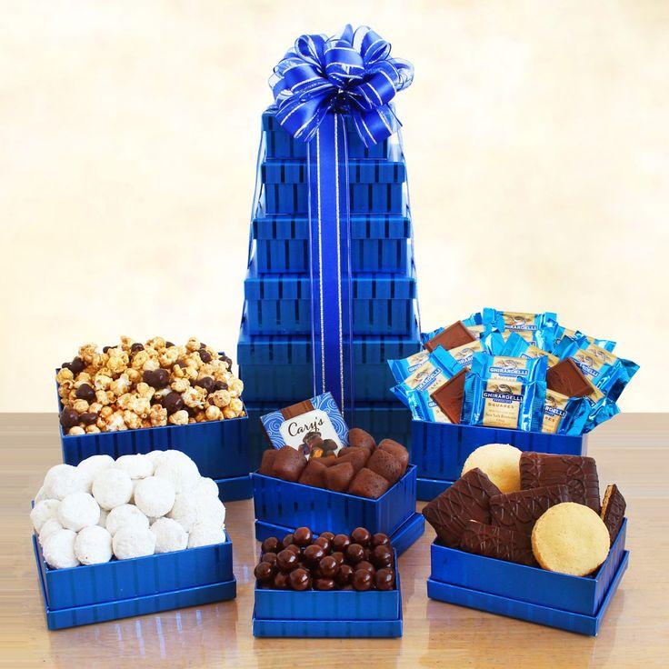 Kosher Sweets Tower Gift Basket - 5675
