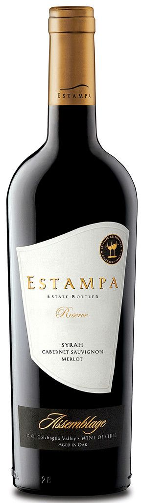 Estampa Reserve Syrah 2010. 82% Syrah, 10% Cabernet Sauvignon, 8% Merlot.  14 months in oak barrels, 80% French, 20% American. Dark colour, strawberry and blackberry, cedar, bacon fat aromas, intense yet fresh fruit flavours on the palate with a little vanilla and toast, silky tannins and a long finish.