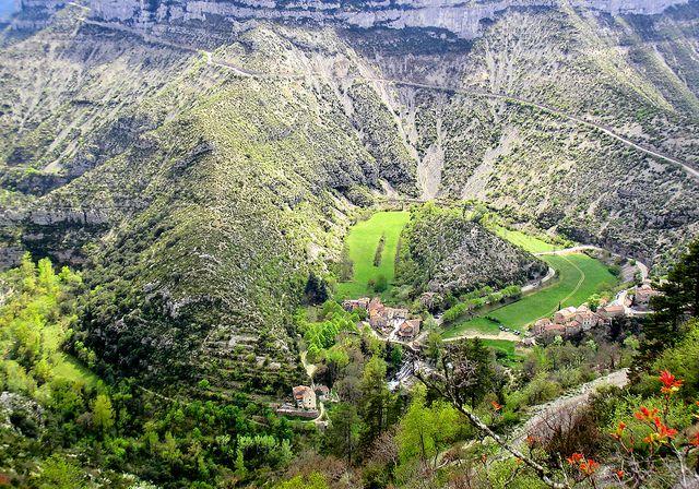 Cirque de navacelles, Languedoc.