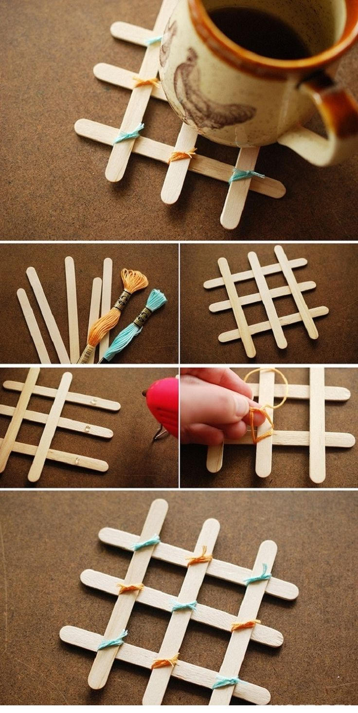 95 best ice cream stick peg craft images on pinterest for Designs using ice cream sticks