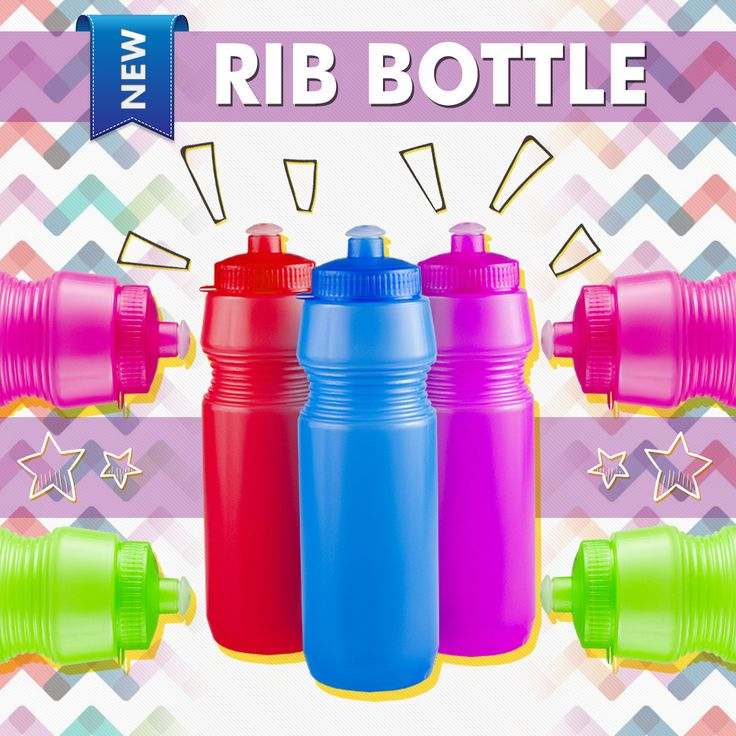 Keep hydrated this summer- introducing our All-New Rib Sports Bottle! Lightweight and Budget-Friendly #Bottle #BrandNew #Summer