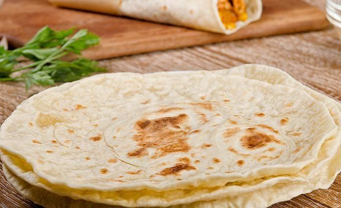 Пшеничные тортильи - пошаговый рецепт с фото
