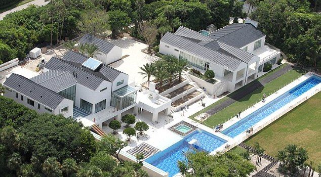 Tiger Woods new house on Jupiter Island, FL....of course, all of our homes do not look like this!!
