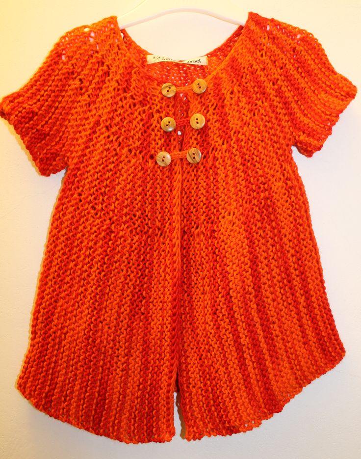 Girls knitted dress