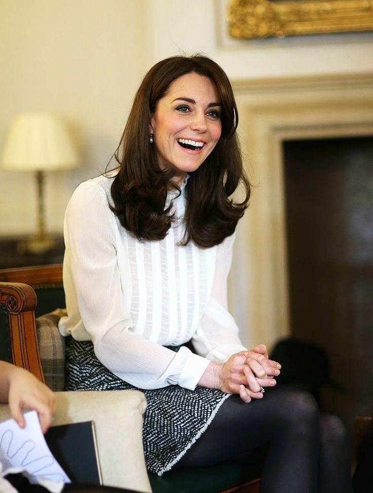 Esta escova de R$50 garante um cabelo como o de Kate Middleton