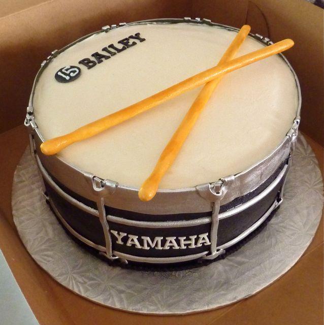 Cake Designs Drum Set : 17 Best images about Drum Cakes on Pinterest Drums, Drum ...