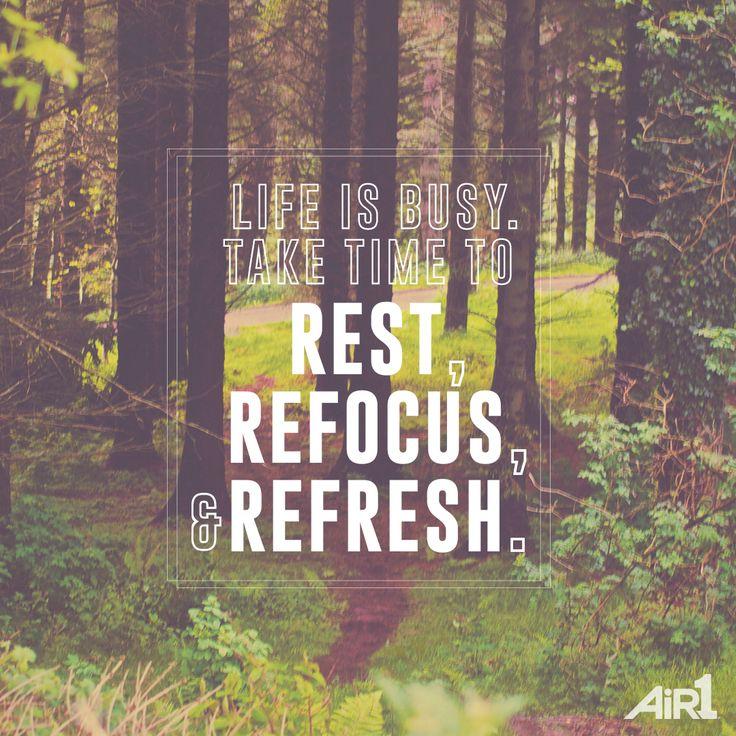 #truth #rest #refocus #refresh