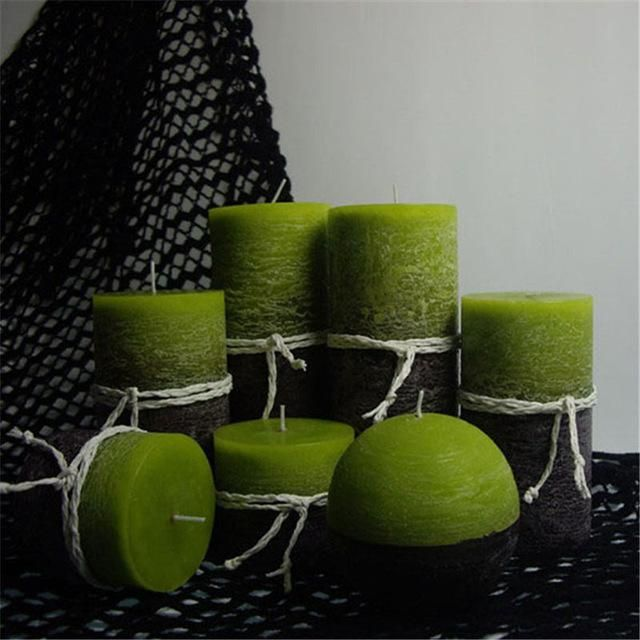 Scented Lars Candles Green - Pin for Inspo!