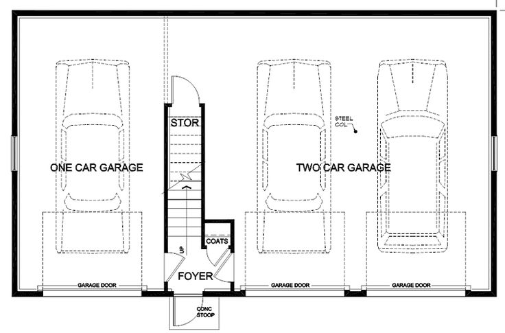 17 best images about garage on pinterest 2nd floor for Saltbox garage plans