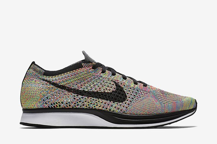 "Nike Flyknit Racer ""Rainbow"" (Grey Tongue) - EU Kicks: Sneaker Magazine"