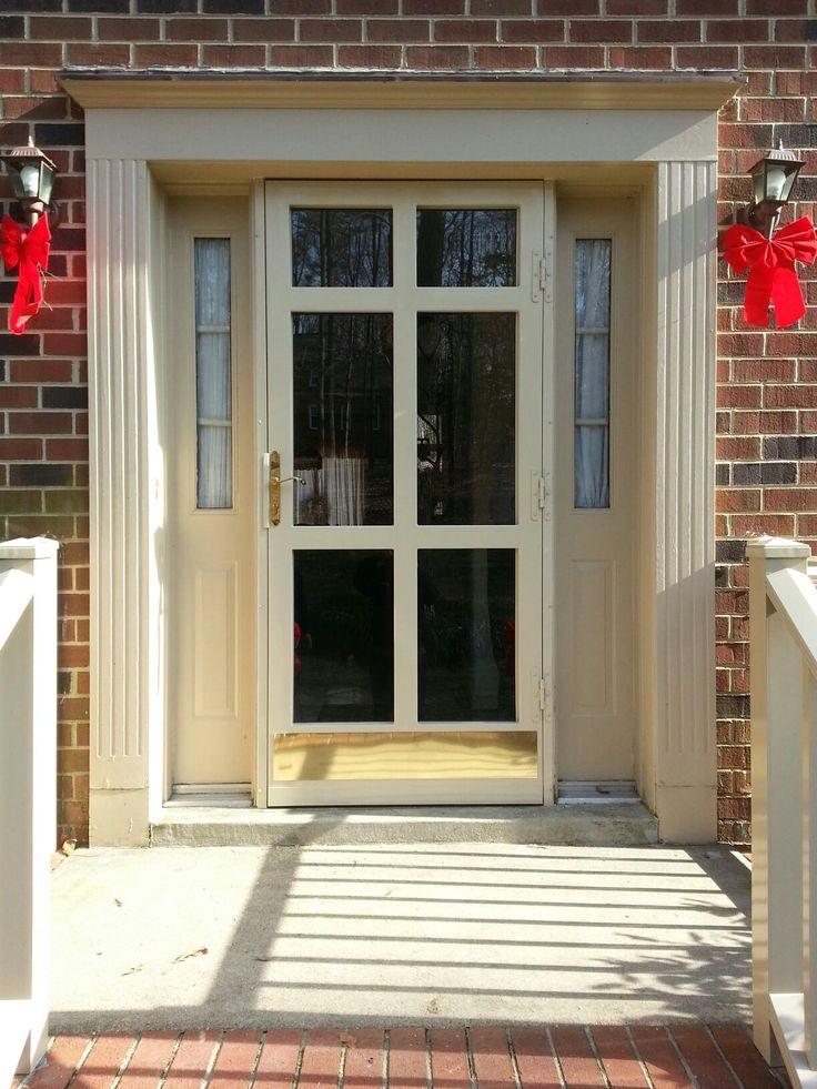 Williamsburg Security Door By Apple Door Systems