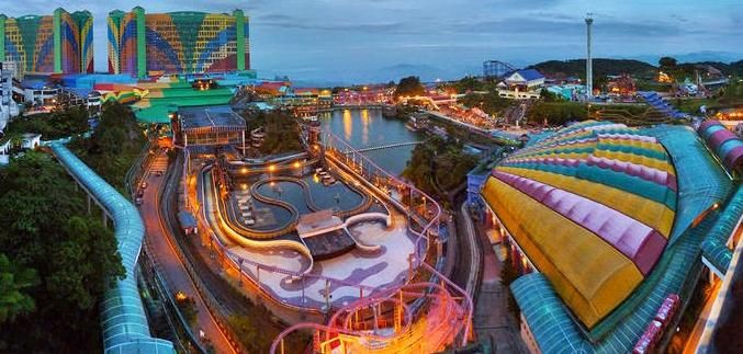 Top tourist attractions such as parks on #Malaysia
