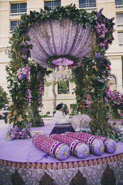 Chandelier mandap, glamorous mandap , mysterious mandap, mystical mandap, disney princess mandap , fairytale decor