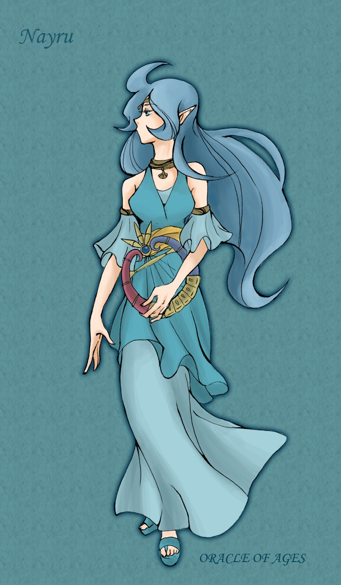 legend of zelda din nude