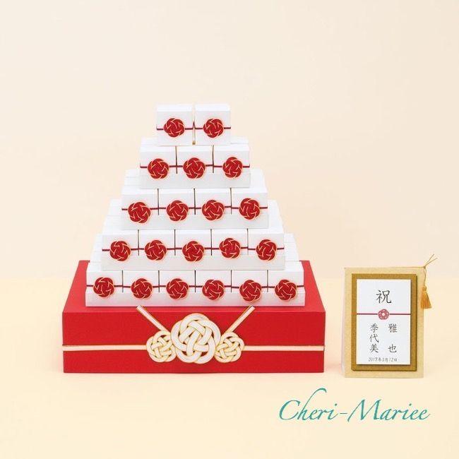 祝箱ウェルカム(金箔こんぺいとう64個セット)|結婚式グッズ通販シェリーマリエ】