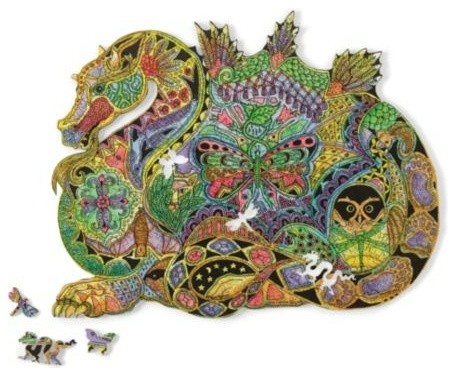 Gump's San Francisco  US ·  Woodcut Dragon Puzzle - $148.00