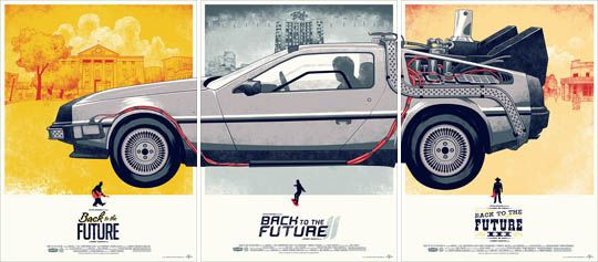 Back to the future: Backtothefuture, Phantom Cities, Poster Frame-Black, Future Trilogy, Cities Creative, Future Poster, Art, Movies Poster, Back To The Future