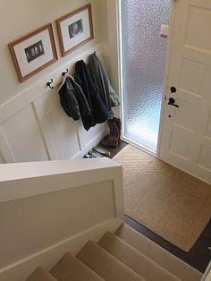 Foyer Coat/Shoe storage - bumped in - organization raised ranch entry - Google Search