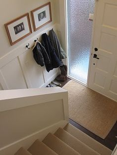 Foyer Coat/Shoe storage - bumped in - organization raised ranch entry - Google Search