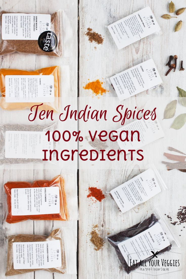 The key 10 Indian spices including homegrown curry leaves and handmade  garam masala. Extremely fresh and will change your Indian dishes  forever, guaranteed. #ad (affiliate link)