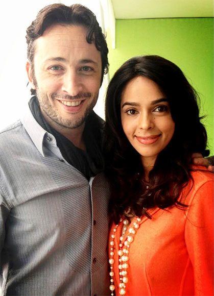 Michael Cohen and Mallika Sherawat