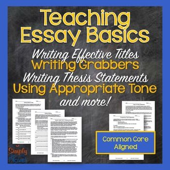Example Of An Essay With A Thesis Statement Essay Process Lessons  Writing Titles Topic Sentences Thesis Statements Essay Topics For Research Paper also Proposal Argument Essay Topics Best  Thesis Sentence Ideas On Pinterest  Topic Sentence  Topics Of Essays For High School Students