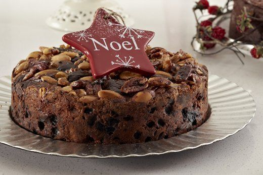 KitchenAid Stand Mixer recipe - Nut topped chocolate fruit cake