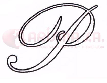 Letra b en cursiva mayuscula - Imagui