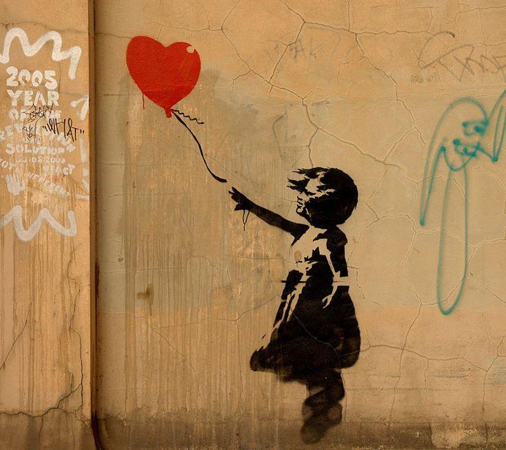 Banksy: Doodles Art, Street Artists, Art Sul-Africana, Banksy Graffiti, Red Balloon, View, Stencil, Streetart, Graffiti Artists
