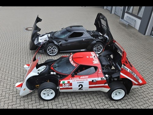 Lancia stratos old and new...